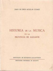 Historia de la música en la provincia de Alicante